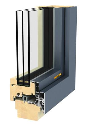 Fenster Aus Holz Metall Gesundes Haus